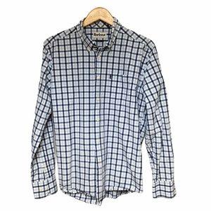Barbour Men's Checkers Long Sleeve Shirt M